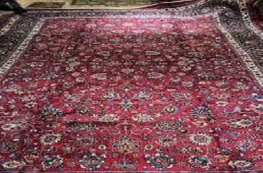شستن فرش پشمی